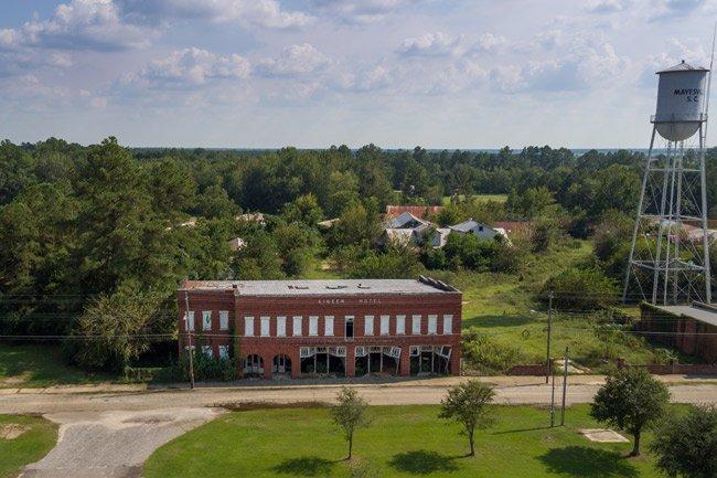 Kinen Hotel Aerial