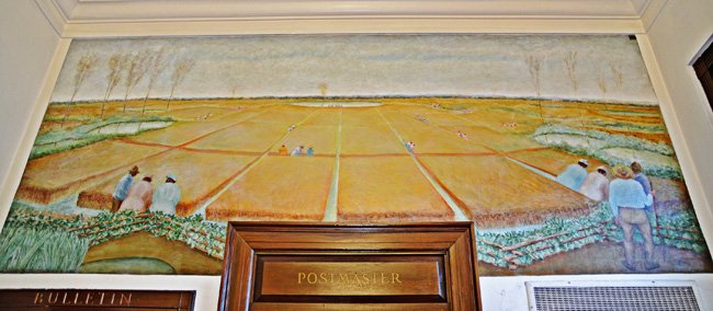 Kingstree Post Office Mural
