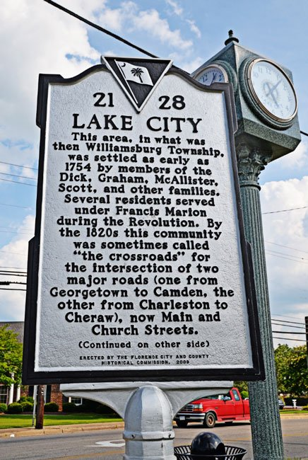 Lake City Marker