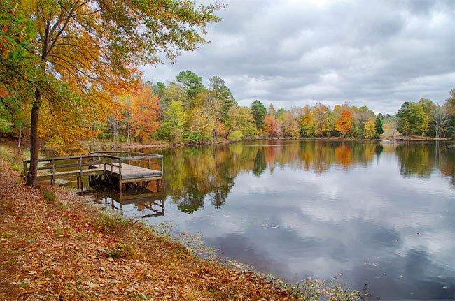Lake Crandall at Anne Springs Close Greenway