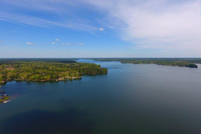 Lake Greenwood Arial