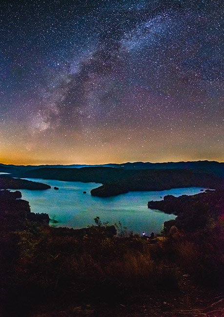Lake Jocassee Under the Stars