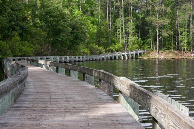 Lake Juniper in Cheraw, South Carolina