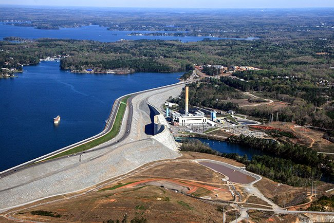 Lake Murray Hydroelectric Dam