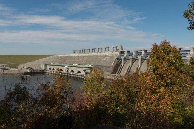 Lake Russell Dam