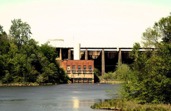 Lake Secession Dam