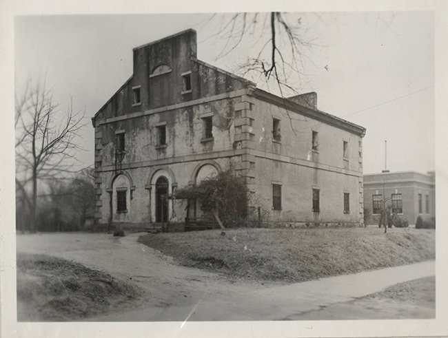 Lancaster County Jail Historic Photo