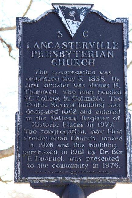 Lancaster Presbyterian Marker