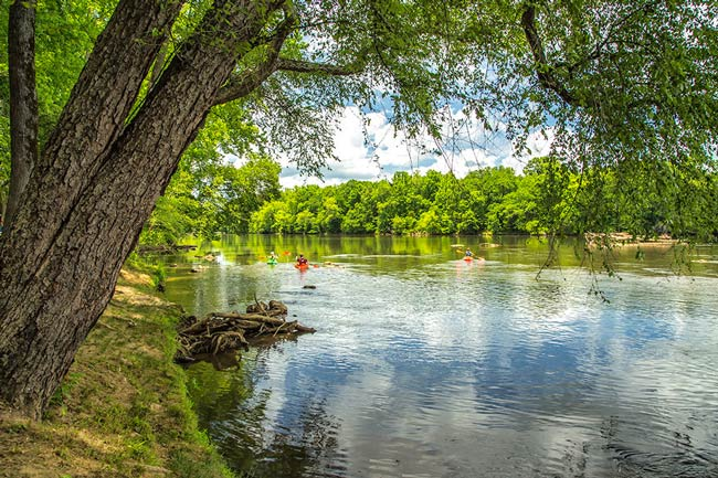 Landsford Canal Catawba River