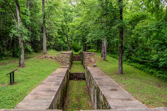Landsford Canal State Park Ruins