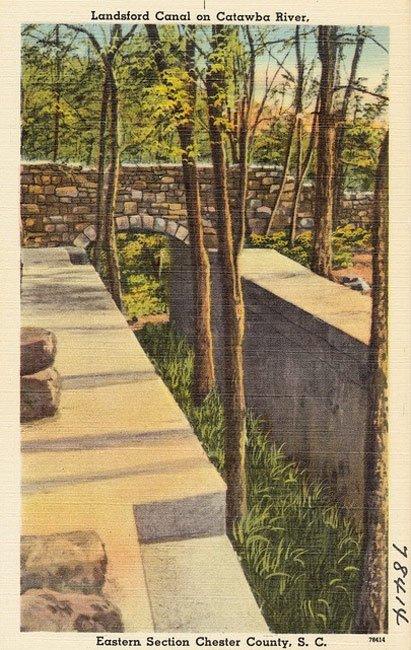 Landsford Canal Postcard