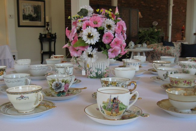 Laura's Tearoom Teacups