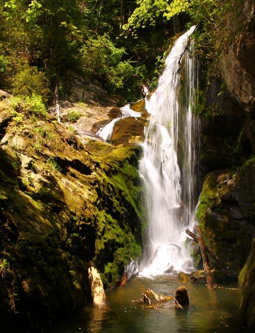 Laurel Fork Falls Pickens County