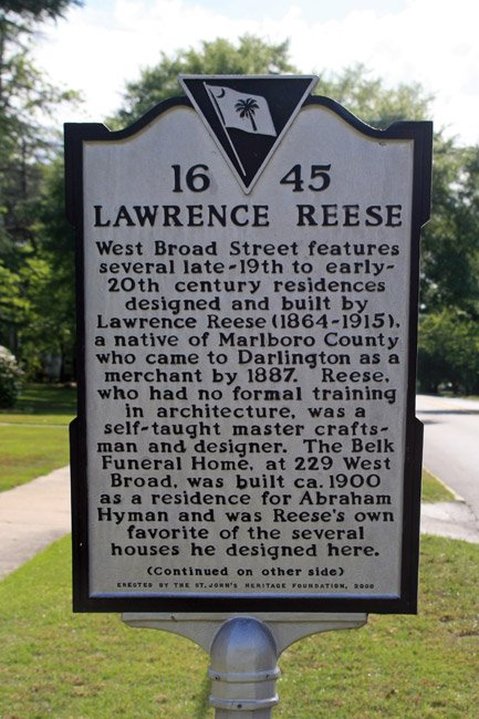 Lawrence Reese Marker