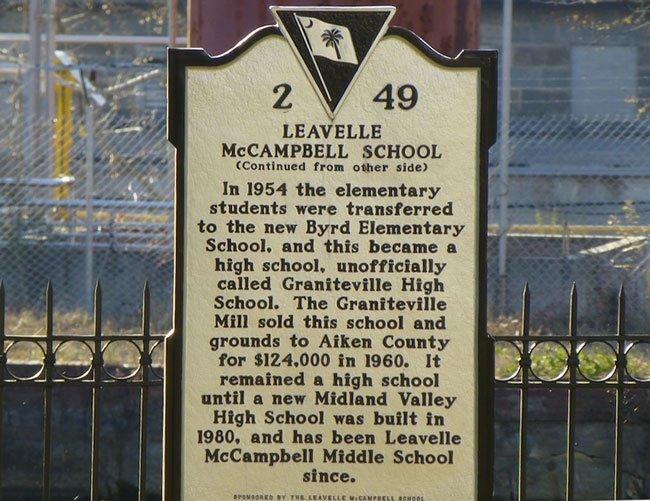 Leavelle McCampbell Graniteville