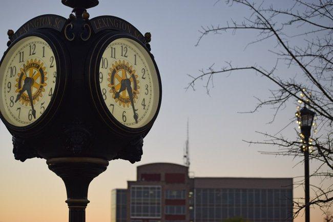 Lexington SC Town Clock