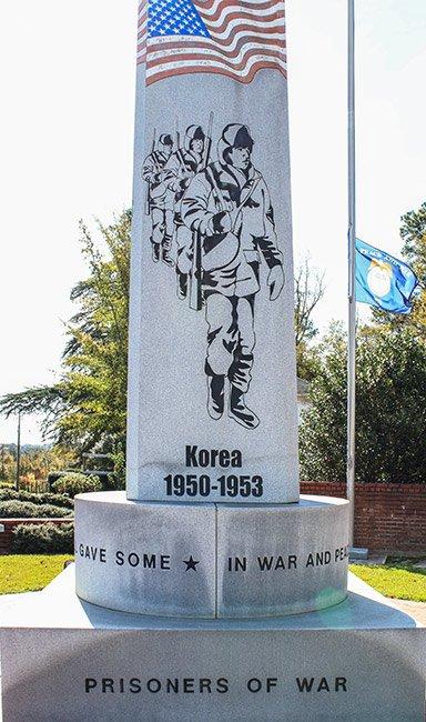 Lexington Veteran Monument