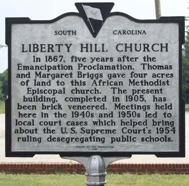 Liberty Hill Marker