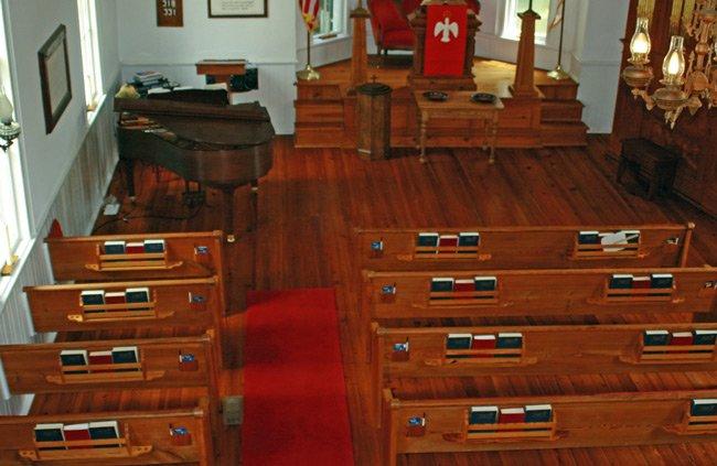 Liberty Hill Presbyterian Interior