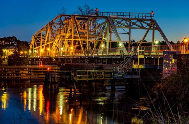 Little River Bridge Night