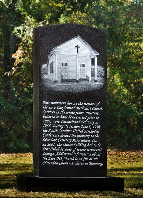 Live Oak Monument