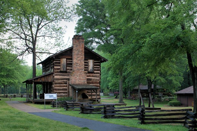 Logan Log Cabin at Ninety Six NHS
