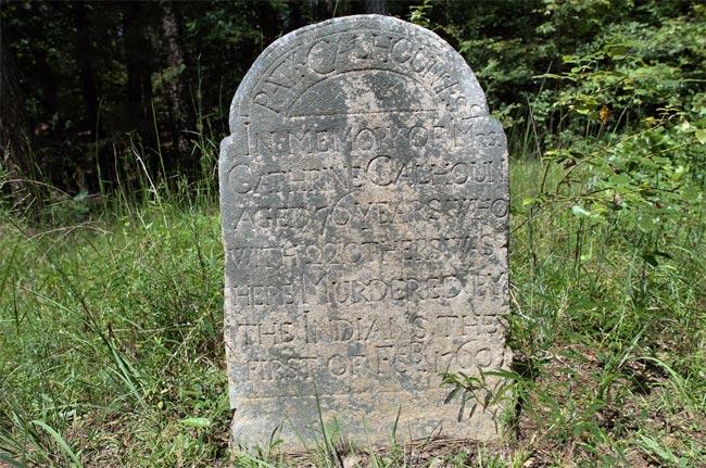 Long Cane Massacre Grave
