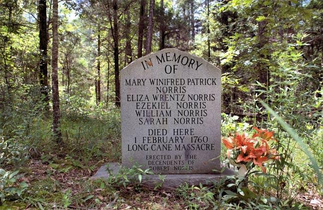 Long Cane Massacre Norris