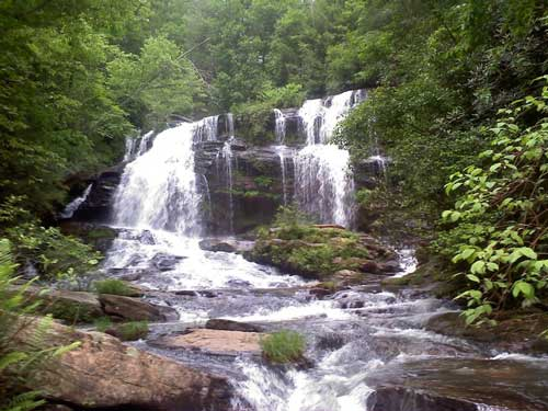 Long Cree Falls South Carolina