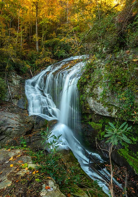 Lower Laurel Creek Falls, Lake Jocassee