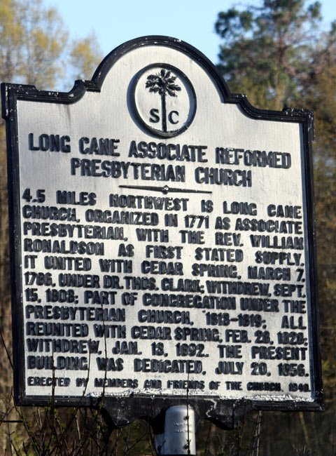 Lower Long Cane Marker