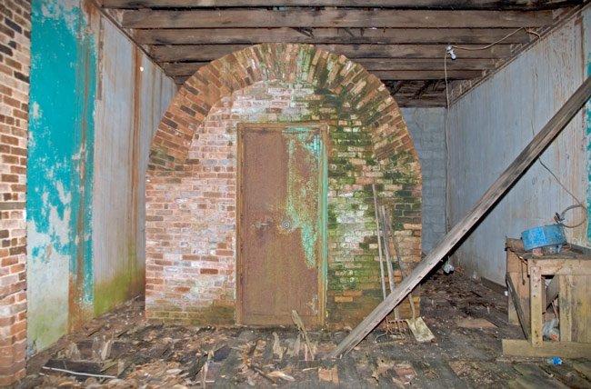 Lowndesville Bank Vault
