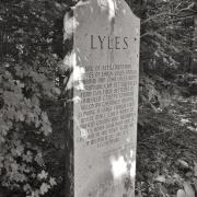 Lyles Family Marker