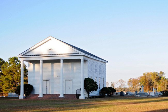 Lynchburg Presbyterian Church in Lee County
