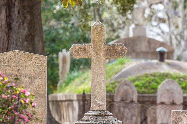 Magnolia Cemetery Funerary Art