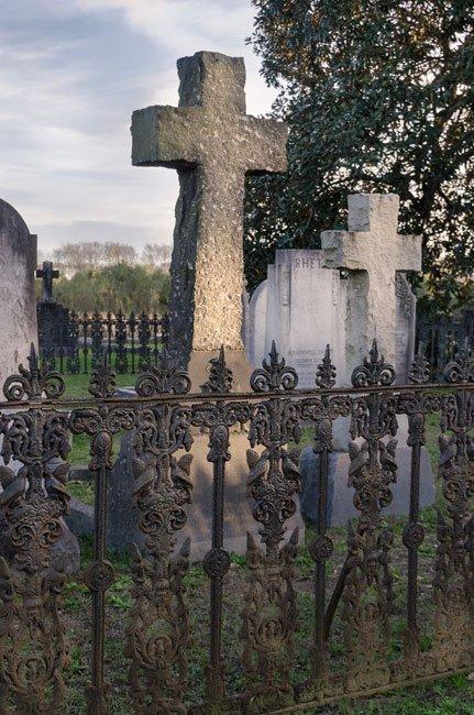 Magnolia Cemetery Grave Marker