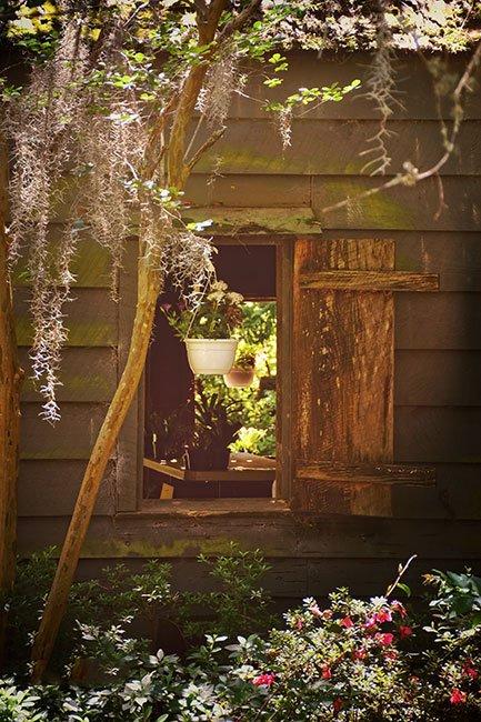 Magnolia Plantation Slave Cabin Window
