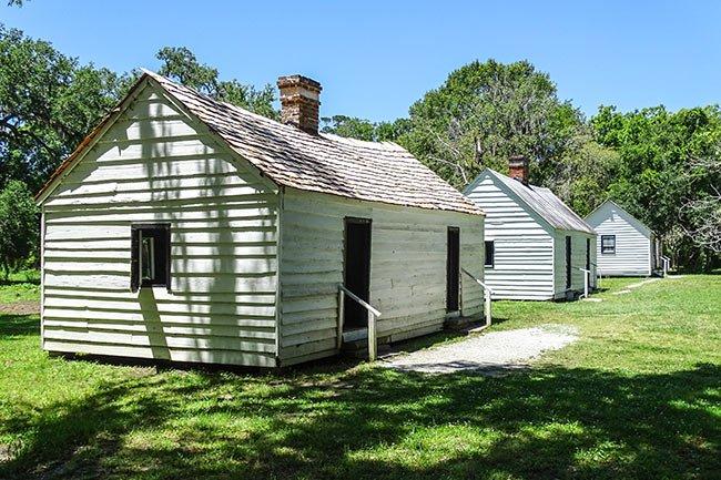 Magnolia Plantation Slave Cabins