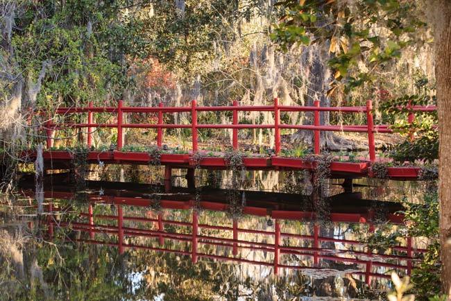Magnolia's Red Bridge