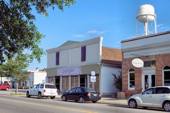 Main Street in Ridge Spring, Saluda County
