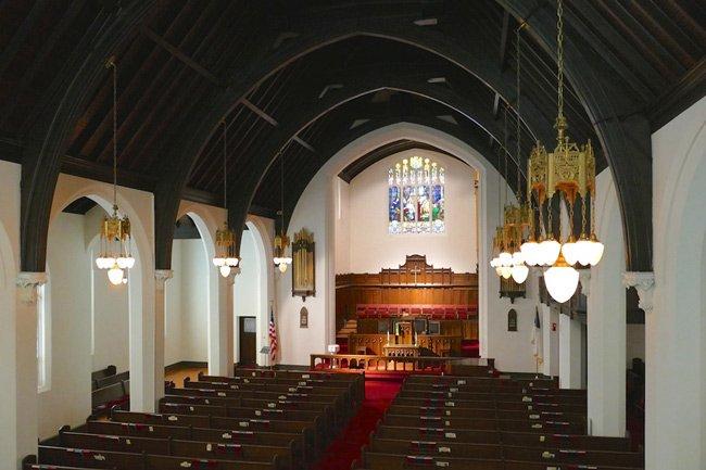 Main Street Methodist Greenwood Interior
