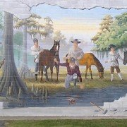 Manning Mural - Swamp Fox Trail