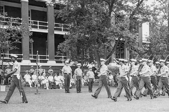 Marine Barracks Parade
