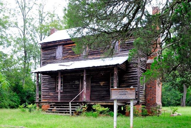 Marsh-Johnson House in Saluda County