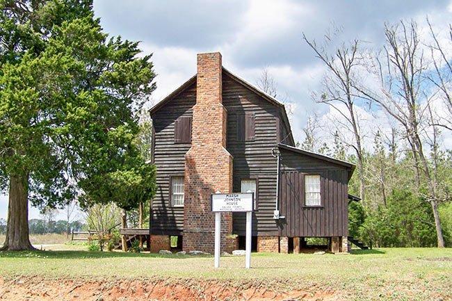Marsh Johnson House seen form the side