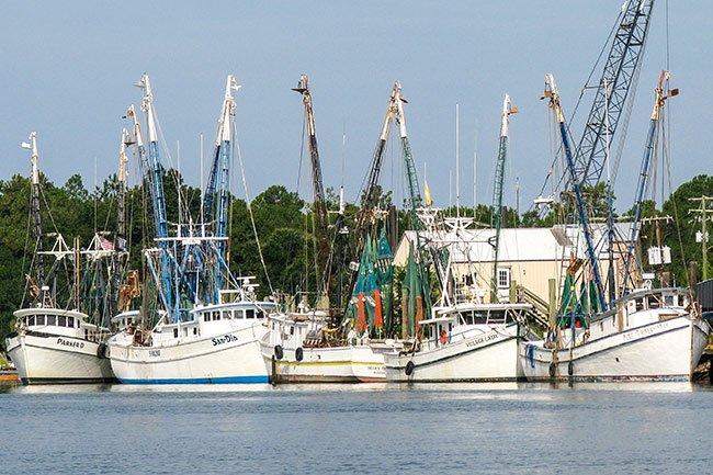 McClellanville Shrimp Boats