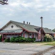 McCormick Train Depot