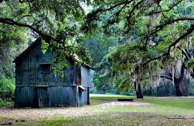 McLeod Plantation Barn