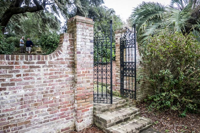 Mepkin Abbey Gates