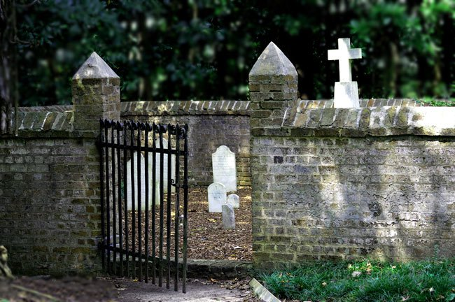 Mepkin Abbey Graveyard